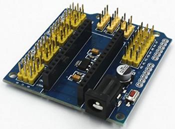 Плата расширения Arduino nano до стандартной Arduino UNO