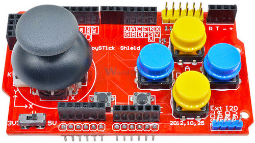 Arduino Joystik Shild FunDuino