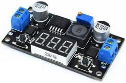 понижающий импульсный регулятор с вольтметром LM2596