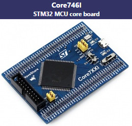 ����� STM32F746IGT6 176 pin ����� Core746I ��������