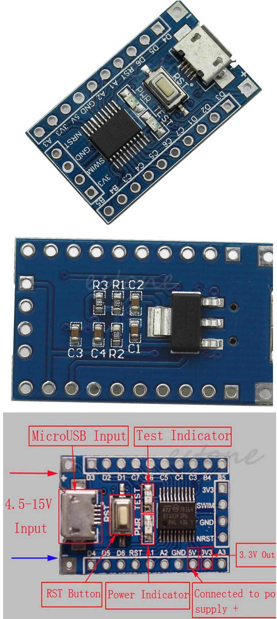 Для прошивки микроконтроллера необходимо соединить выходы программатора vcc, gnd, reset, sck, mosi