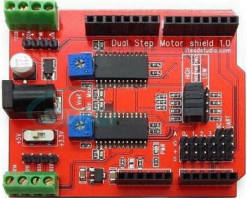 Arduino шилд драйвер двух шаговых моторов на двух A3967