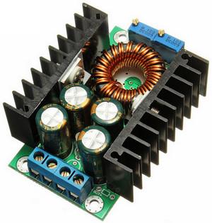Понижающий dcdc до 12 А 300 Вт с регул тока и напряжения